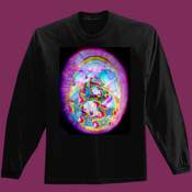 abstract buddah dream t shirt