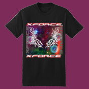 Twin Tribal Stars Tshirt XForce