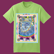 Psychedelic Lime tshirt