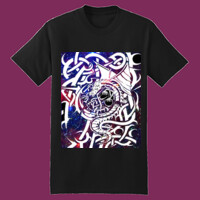 Keltic Dragon Tshirt Black